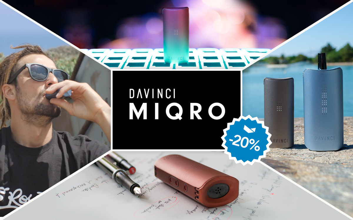 DaVinci MIQRO discounts on Black Friday and Cyber Monday