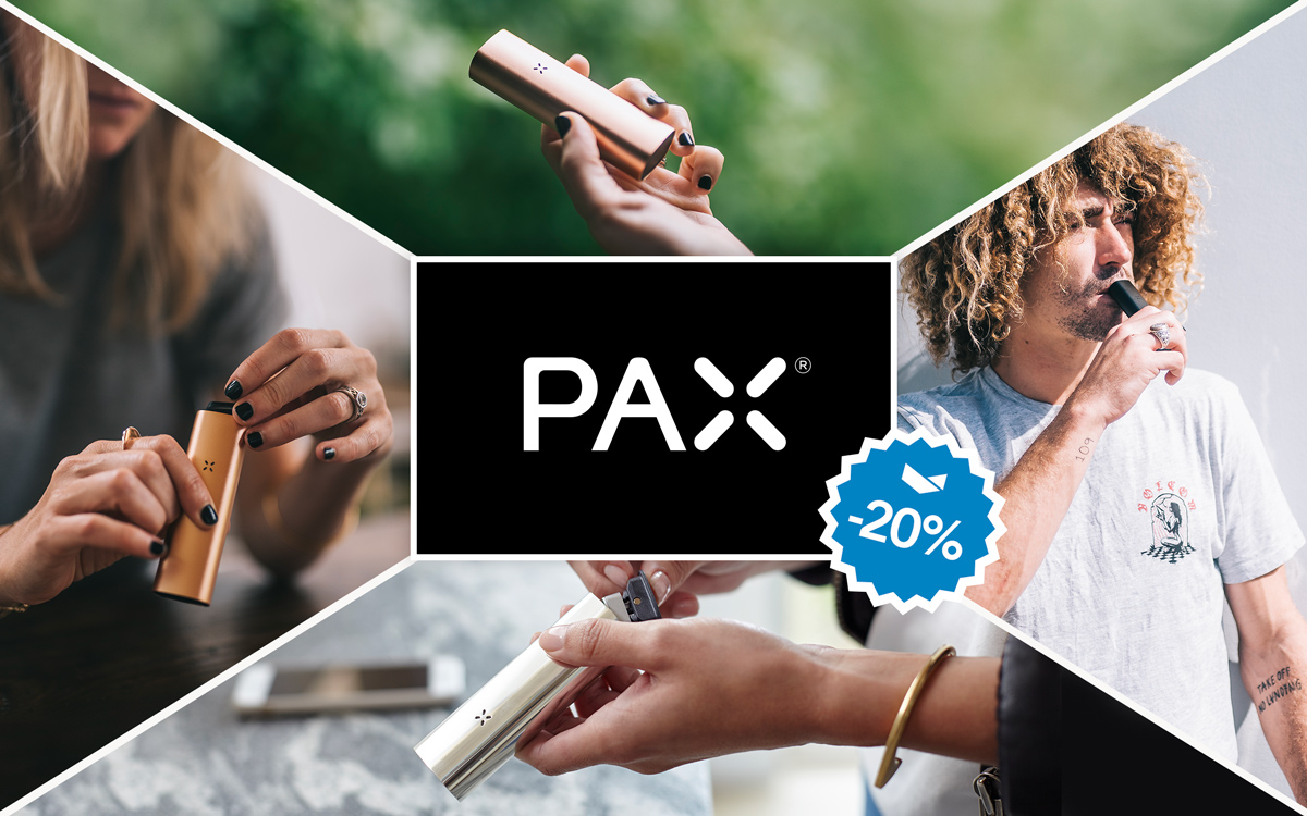 Pax 3 discounts on Black Friday and Cyber Monday