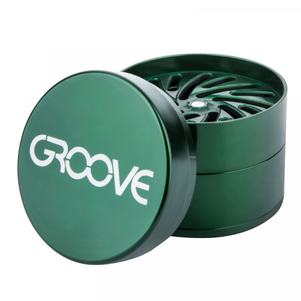 Groove by Aerospaced grinder